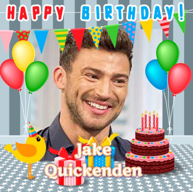 Happy Birthday Jake Quickenden, Chris Fountain, Pauline Collins, Mike Harrison, Susan Milan & Stephen Woolley