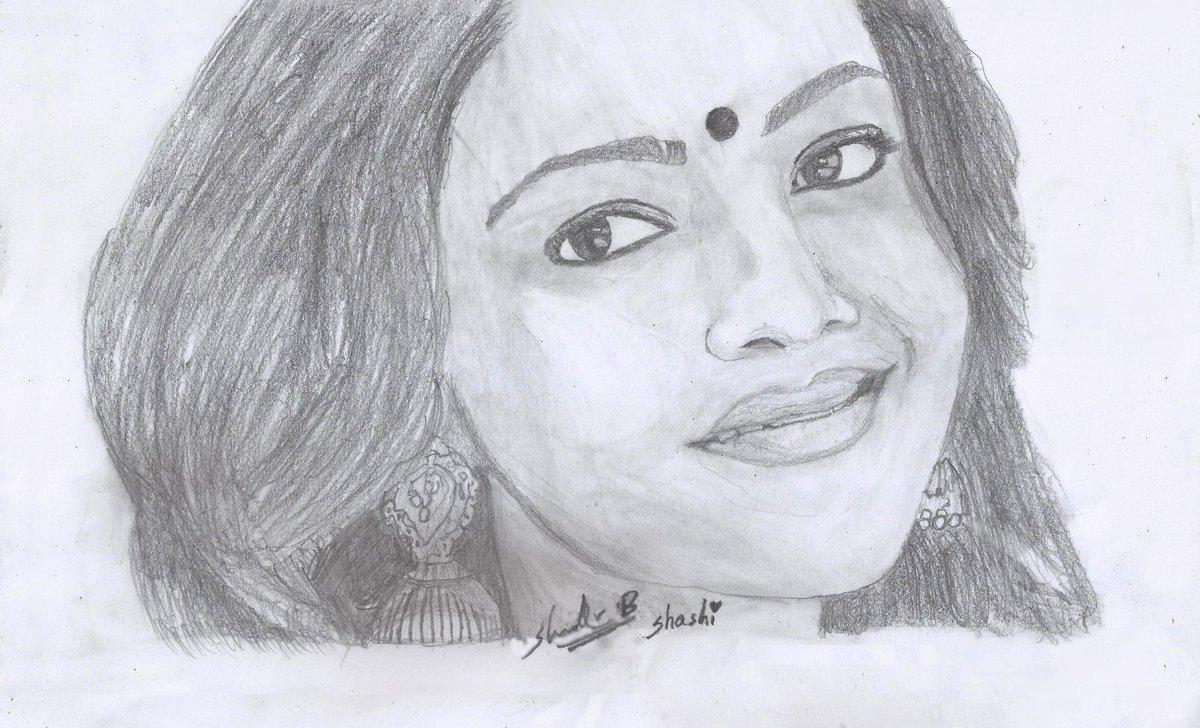 "The Kajal FC on Twitter: ""Wonderful Pencil Sketch art by a ..."