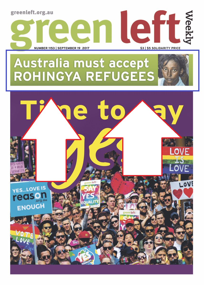 The #greenleft want more refugees from #myanmar - but does #australia want these #refugees? #springst #bringthemhere #auspol #3aw #melbourne<br>http://pic.twitter.com/qxhVEKulJt