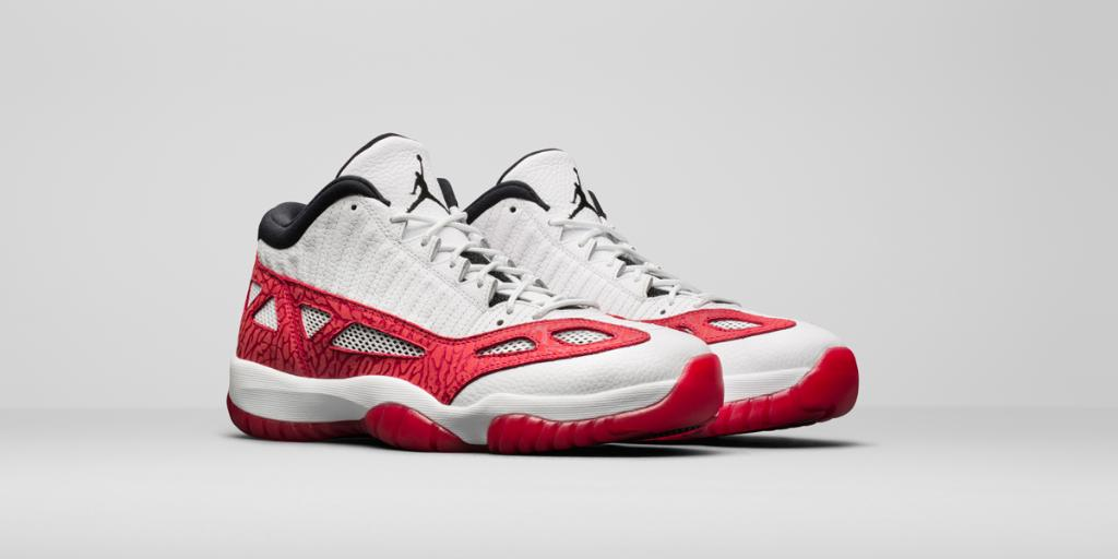 f84feee953e351 The Fire Red Air  Jordan 11 Retro Low IE arrives Saturday. Reservations  Open.
