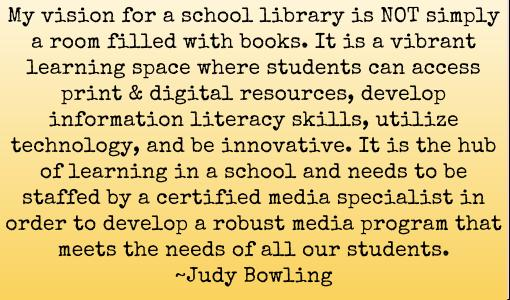 What is your vision for a school library? #futurereadylibs #tlchat <br>http://pic.twitter.com/aFUKT3d8VO