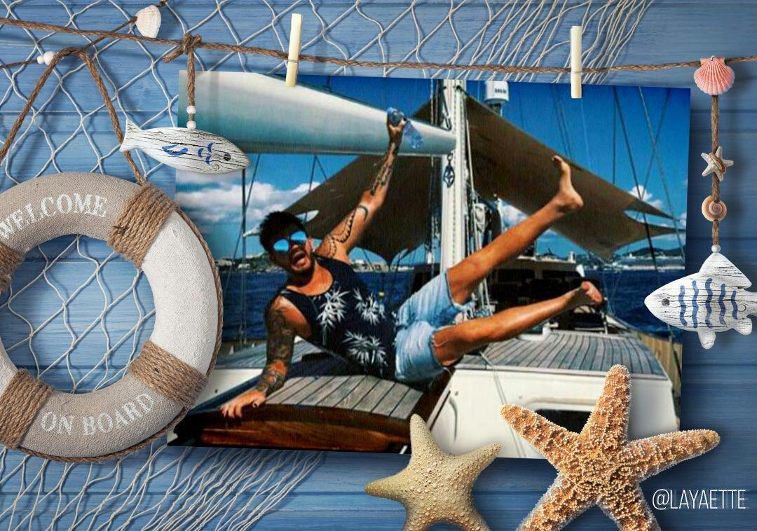 #AdamLambert on Rogers yacht  I love pics like these! @adamlambert<br>http://pic.twitter.com/WmU7rTXAur