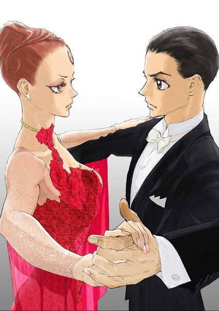 "pKjd ar Twitter: ""Ballroom e Youkoso (Welcome to the Ballroom) TV anime  2nd-cour visual https://t.co/GLypiTkXZE #ballroom_anime… """