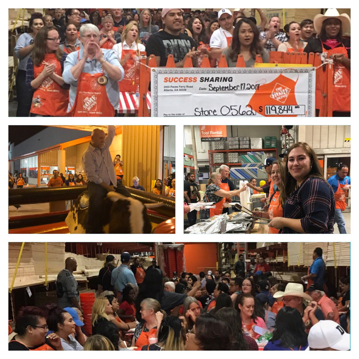 Jason Loftus On Twitter Thank You To All The Associates At The Home Depot Odessa Texas Great Job Team You Rock Lewishom
