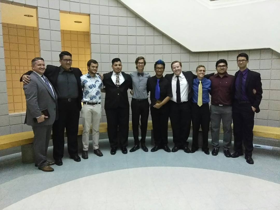 Welcome the new probationary members of the Sigma Class!! and one of our honoraries of the Gamma Pi chapter!! All hail!! #Sinfonia #PMA <br>http://pic.twitter.com/unmkNoLmpt