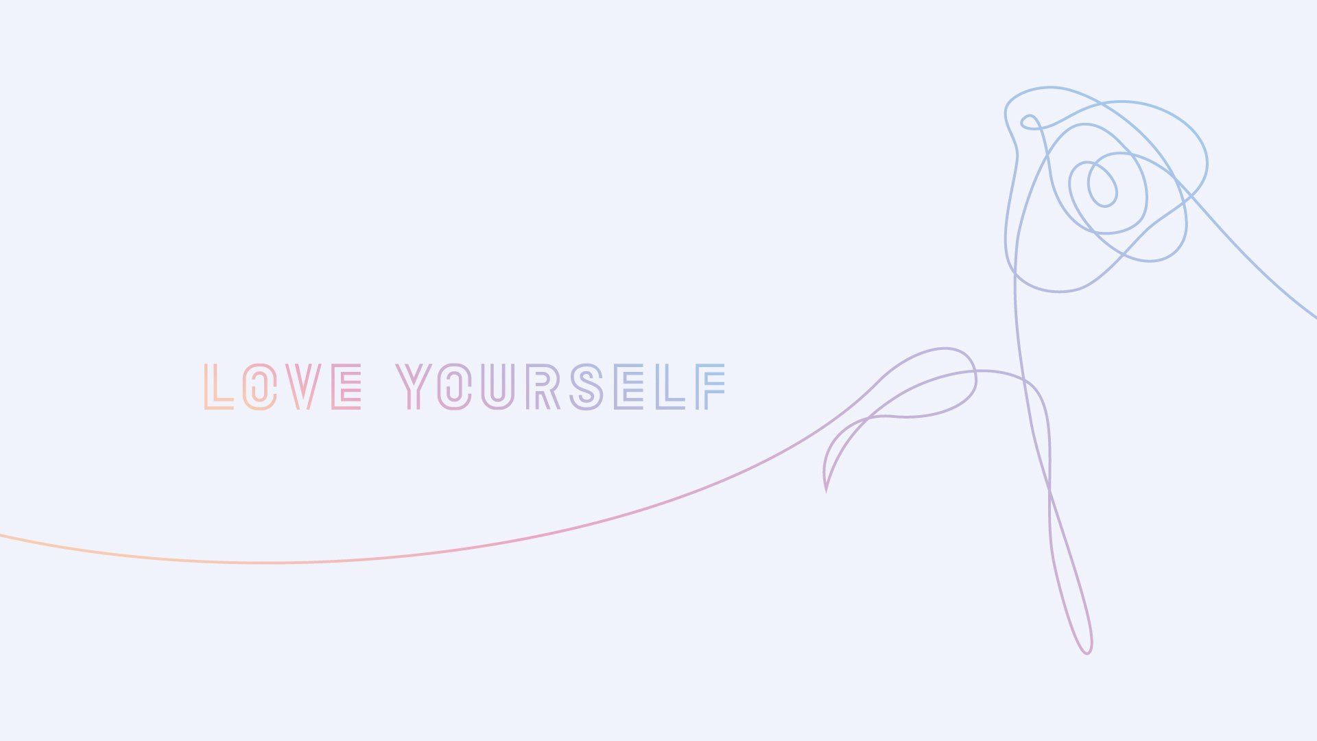 Bts Kookie Monster On Twitter Love Yourself Desktop Wallpapers