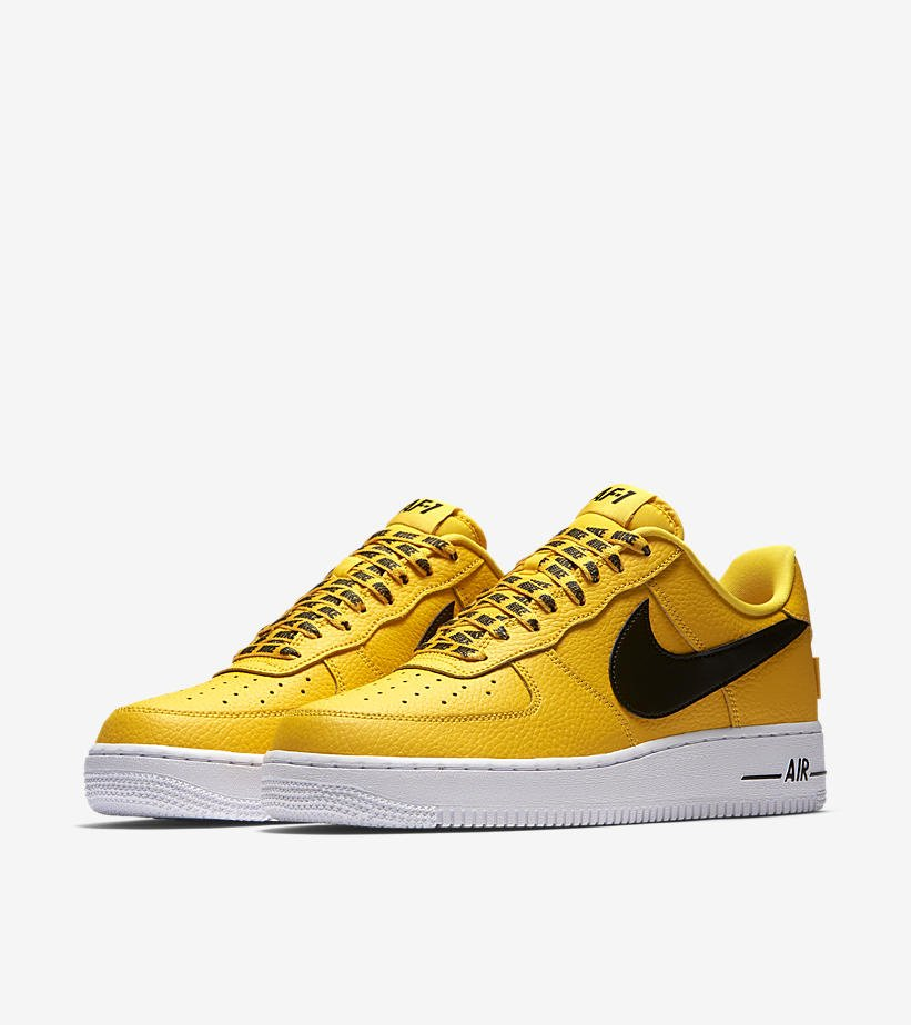 2337fbc0d18 ... sweden sole links on twitter live early nba x nike air force 1 low  yellow black