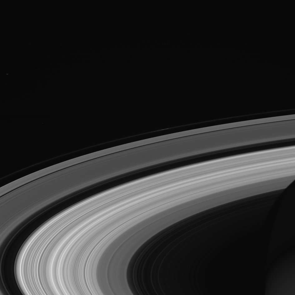 Those parting views from @CassiniSaturn yesterday #SaturnSaturday https://t.co/plbjiabMGm