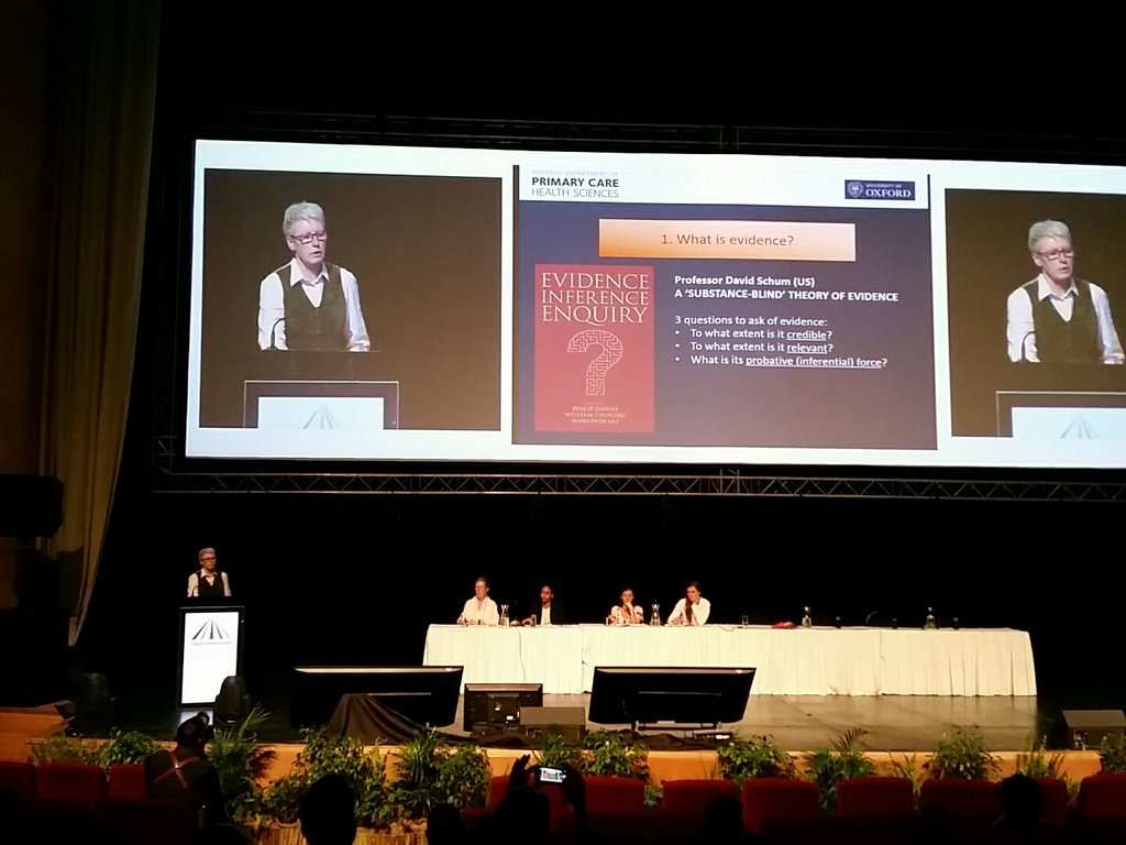 Trisha greenhalgh:for those who want truth, adequate evidence is enough. For those who dont,overwhelming evidence is inadequate #GESummit17 <br>http://pic.twitter.com/MPDPgoiUh7