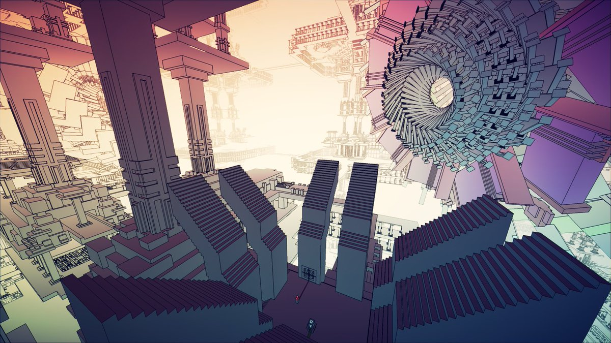 """Manifold Garden on Twitter: """"A collection of some screenshots taken this past week during development #screenshotsaturday #madewithunity… """""""