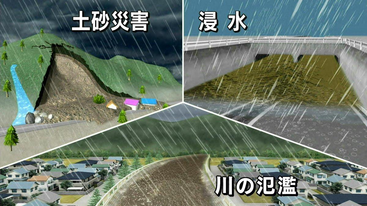 【台風18号・大雨の警戒点は】「台風接近前から大雨になり、そこへ台風本体の雨雲がかかる」という点です…