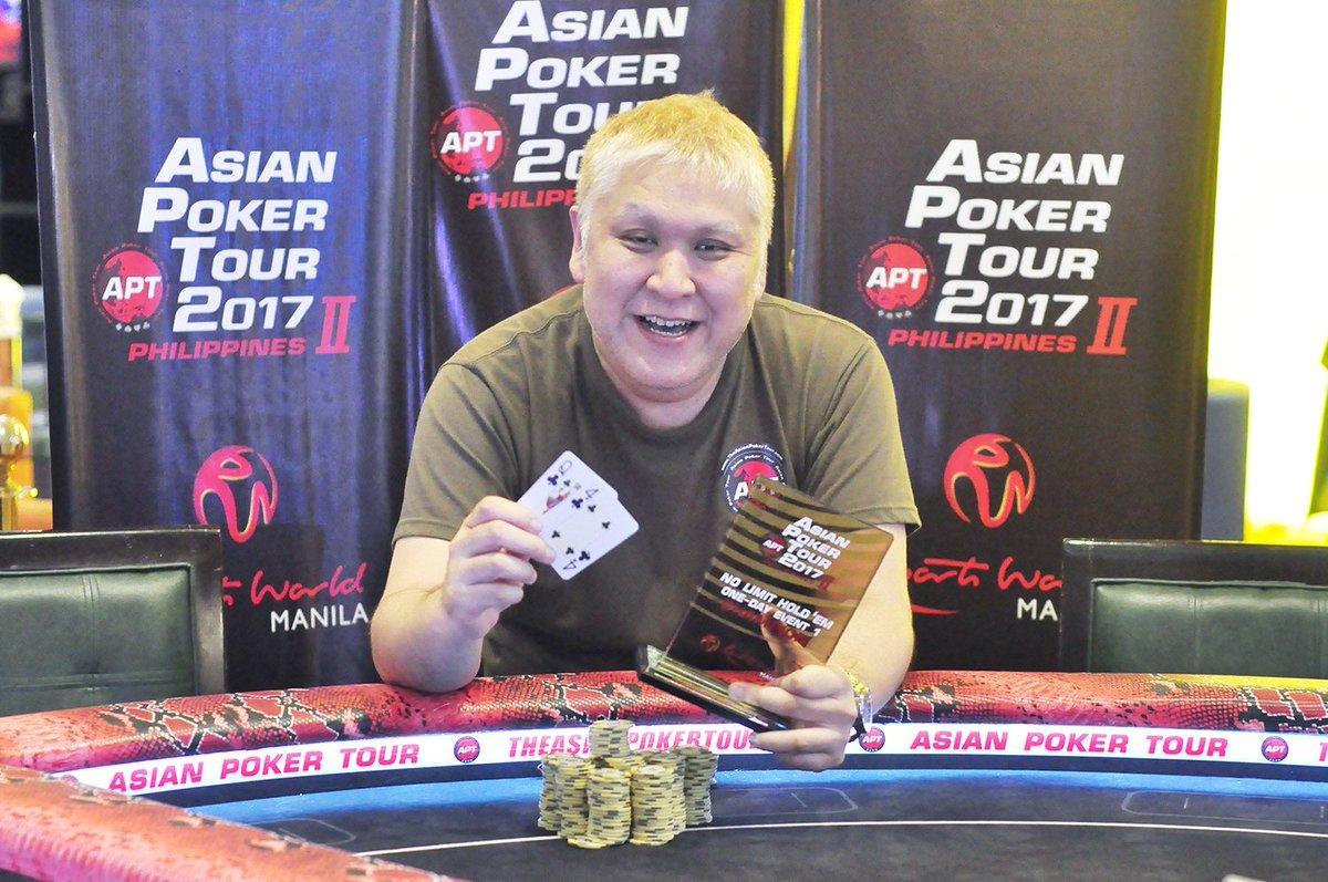 Asian poker tour twitter cheap customized poker chips