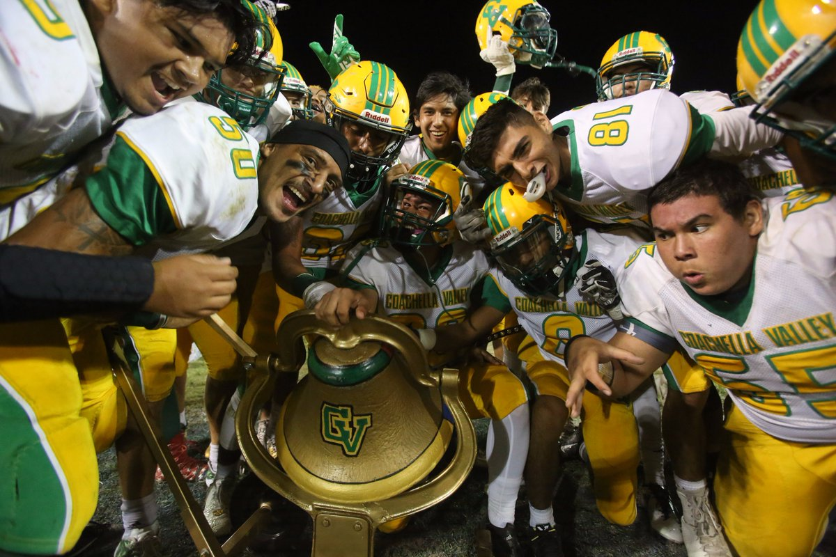 The Victory Bell stays with Coachella Valley!! Arabs top Rajahs 29-16.