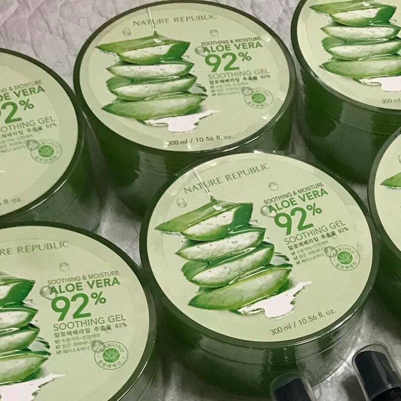 aloe soothing gel инструкция