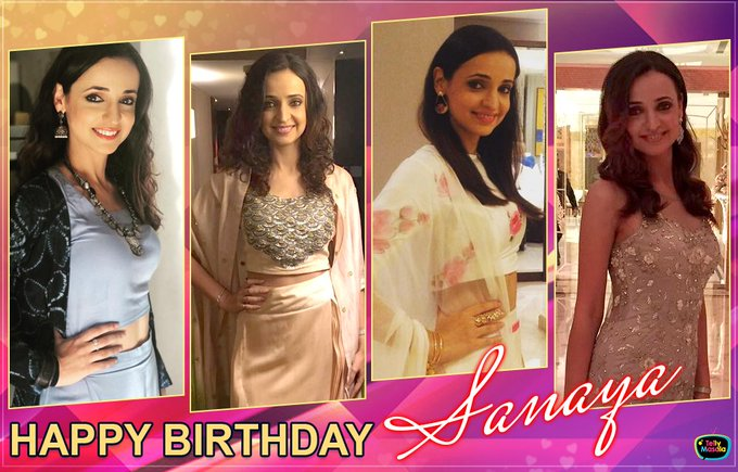 Wishing a very Happy Birthday to Sanaya Irani!  to wish her...