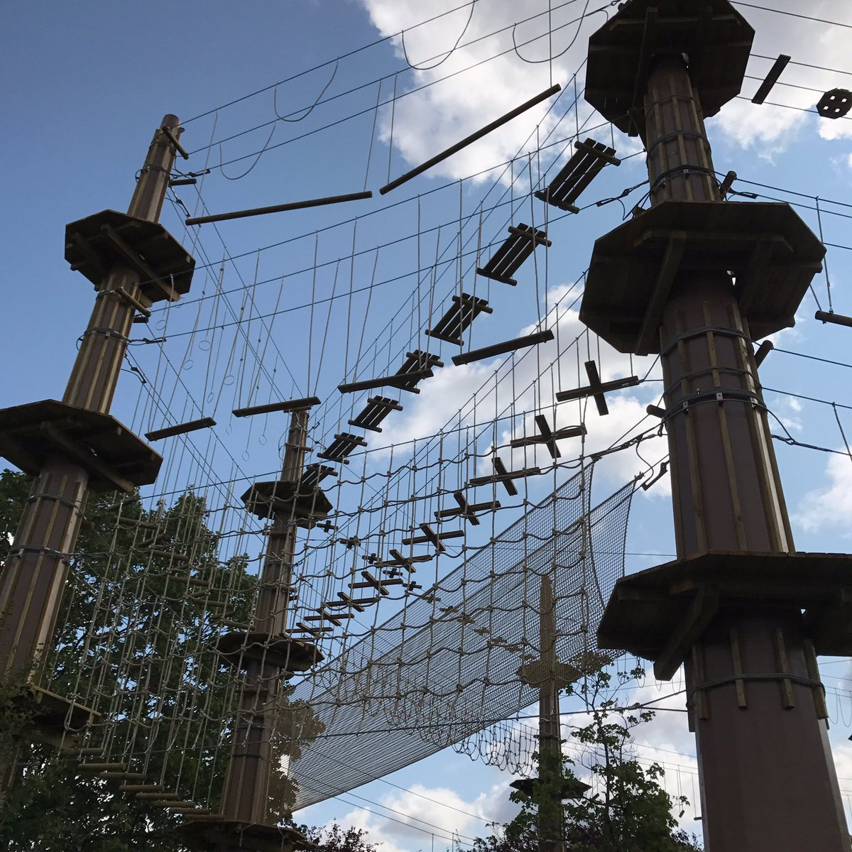Go Ape On Twitter Quot Update The Build For Tree Top