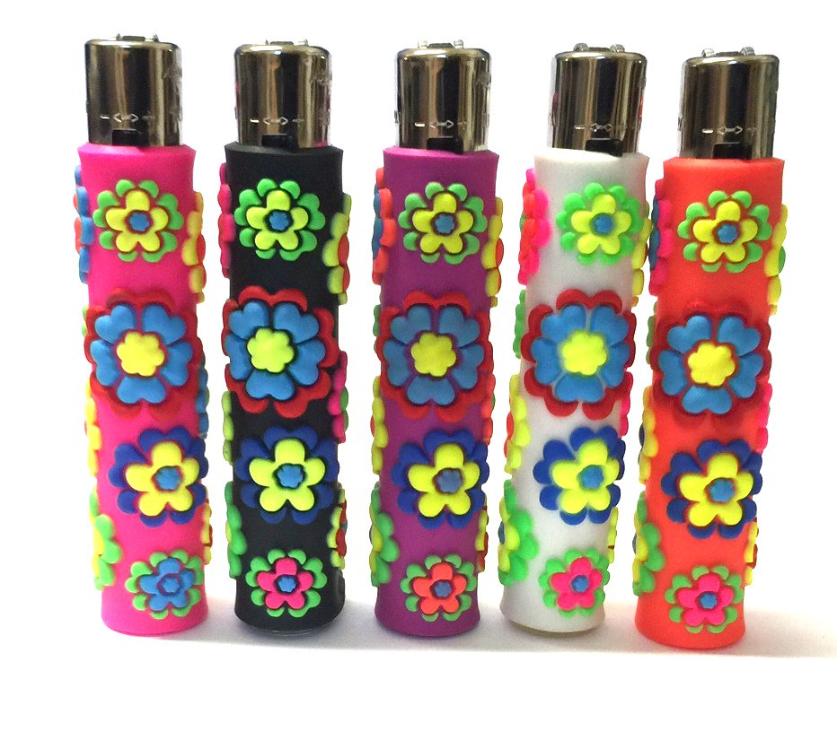 Look at these fab rubber coat #refillable gas flint lighters.  Slimline, easy to use.  Great raised #flower design  http:// ebay.eu/2h9TZmv  &nbsp;  <br>http://pic.twitter.com/vKPhPGzOLT