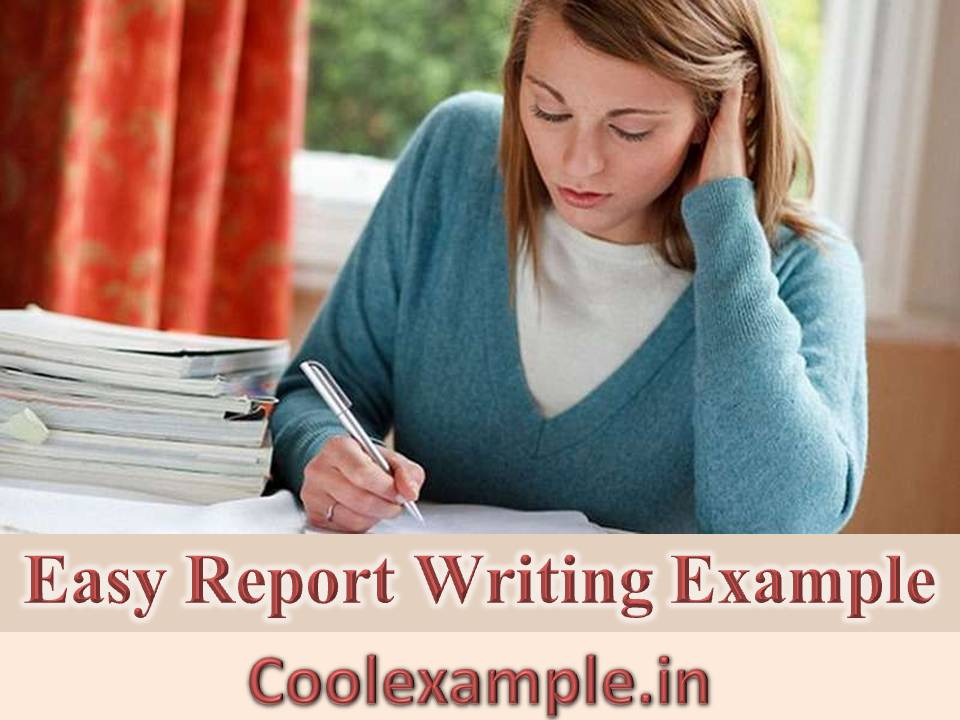 easy report writing Report writing requires formal writing skills to get done right here are some primers and pdf guidelines for you don't necessarily have to have great writing skills when you're writing a report.