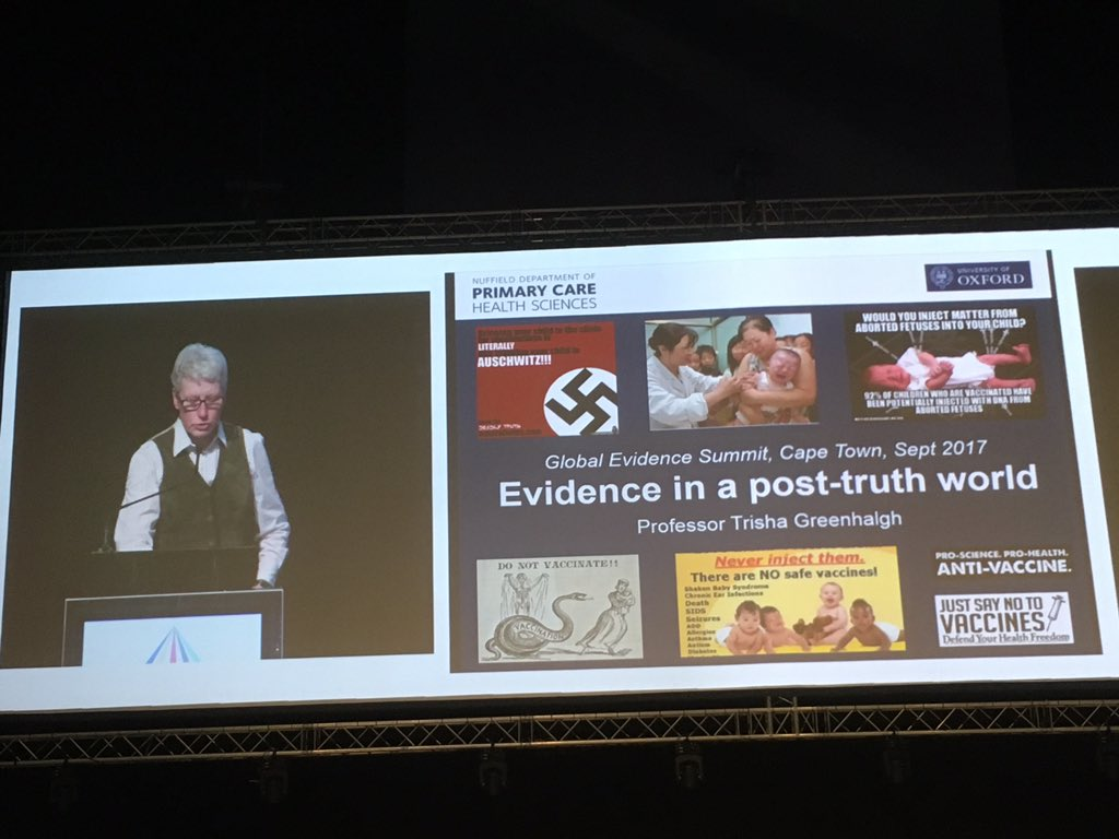 Peole reject facts that are true, if the facts don&#39;t fit their framework @trishgreenhalgh #GESummit17 <br>http://pic.twitter.com/rdbiAhCidv