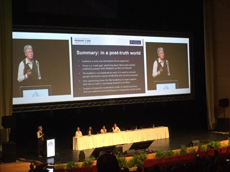 .@trishgreenhalgh summarises problems, points towards solutions: &quot;we need to learn to tell better stories.&quot; #GESummit17 <br>http://pic.twitter.com/oN83y1WKOi