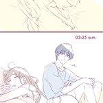 寝相(紬いづ) pic.twitter.com/CD9EITW6qr