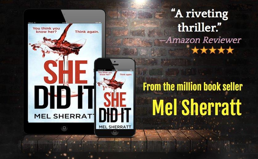 #Whatdidshedo ? SHE DID IT - Kindle pre publication price only 99p/99c. Two days left! https://t.co/JnodJZkR3A https://t.co/gTU1sTk5ct