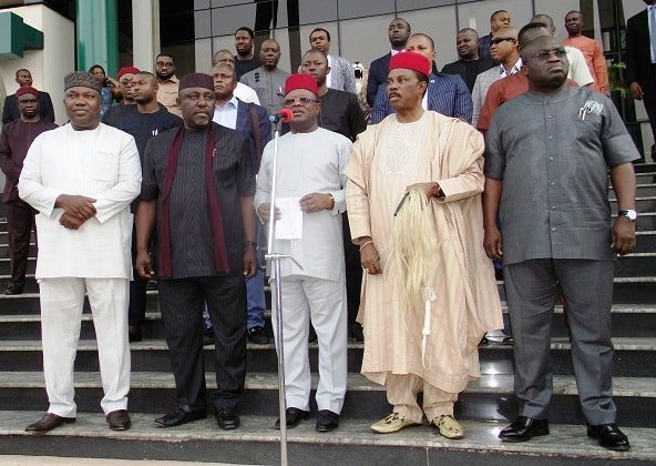 Exposing complicity of Obiano & Ikpeazu in army's genocidal operations in Igboland; 15 questions before defense quarters on IPOB's terror labeling