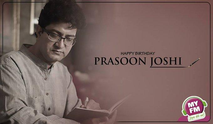 "\""         ...         ...        \"" Wishing Prasoon Joshi a very happy birthday!"