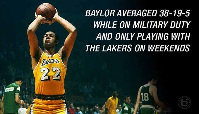 Happy Birthday Elgin Baylor - most underrated player ever?  VIDEO:
