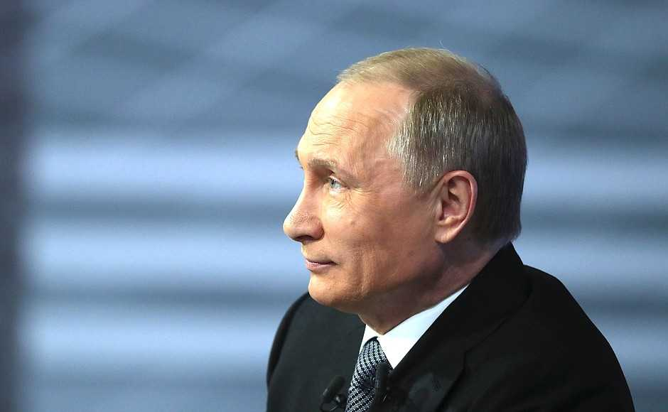 Vladimir Putin is now the second longest serving Russian leader over the past century, second only to Joseph Stalin.  https://t.co/WwzJy5zT1v