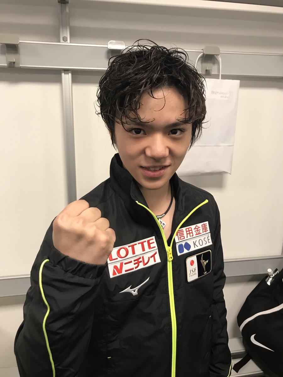 ロンバルディア杯男子フリーは宇野昌磨選手がシーズン初戦とは思えない合計319.84点のビッグスコアで…