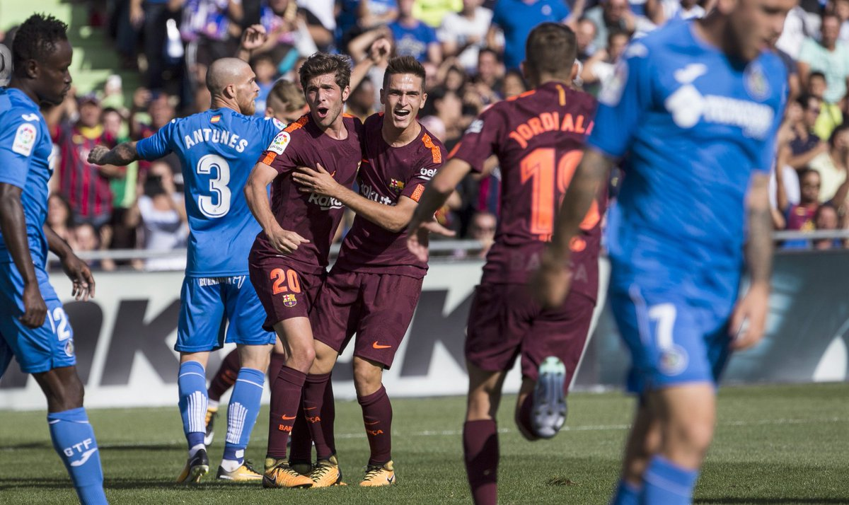 Видеообзор матча «Хетафе»— «Барселона»
