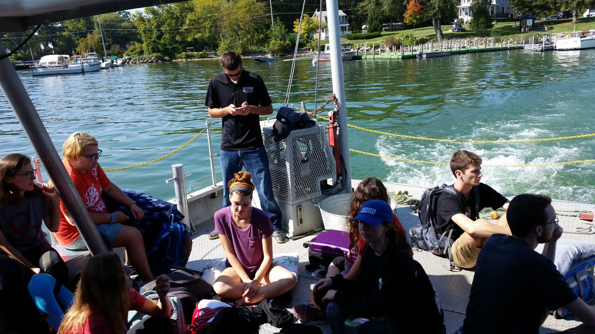 RT @graysm25: Great day to introduce @OhioState @OSUEnvironment freshmen to @stonelab !! #LakeErie https://t.co/P5gHPpO1EM