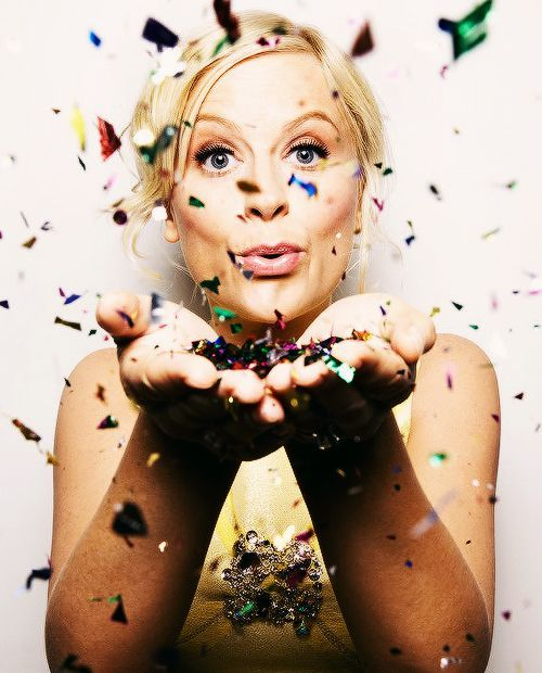 """No one looks stupid when they\re having fun.\""   Happy 46th birthday, Amy Poehler"
