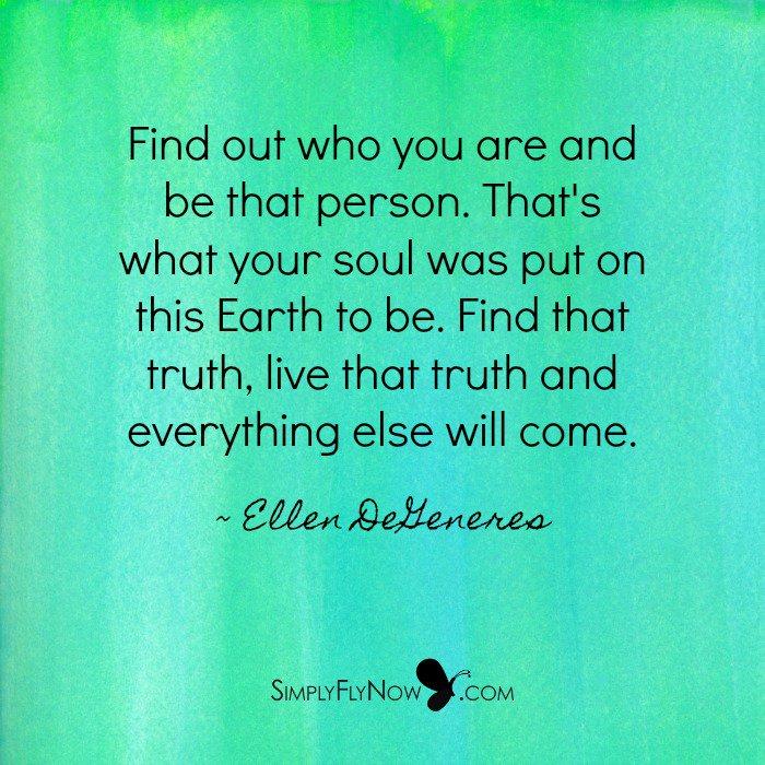 Live who you truly are...   https:// simplyflynow.com/blog/living-wh o-you-are/ &nbsp; …   #EllenDeGeneres #SuccessTRAIN #success #smallbiz #Entrepreneurship #SimplyFlyNow <br>http://pic.twitter.com/CueGD1mSYM