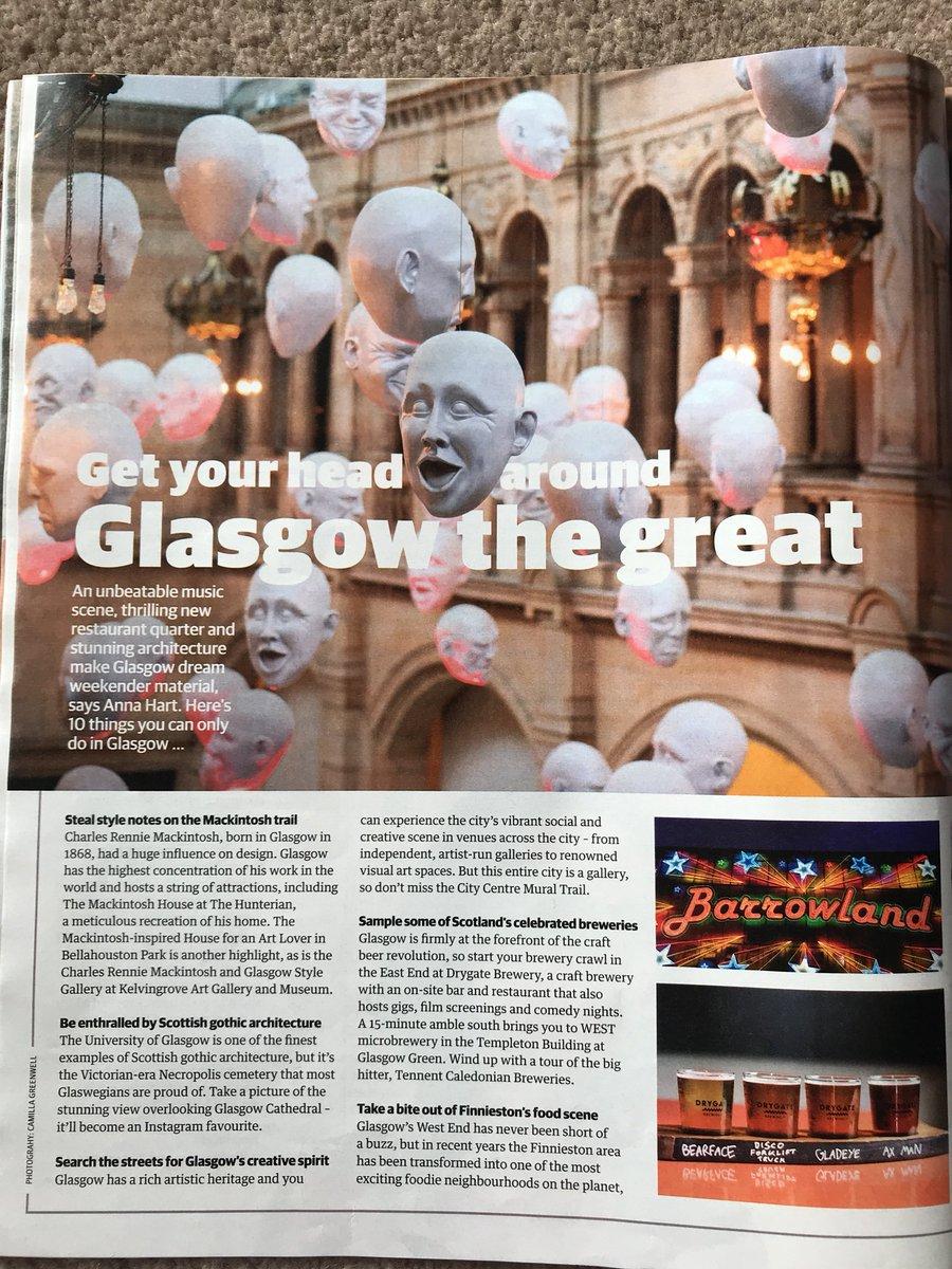 OMG #FinniestonFoodCrawl featured in today's @guardian @peoplemakeGLA