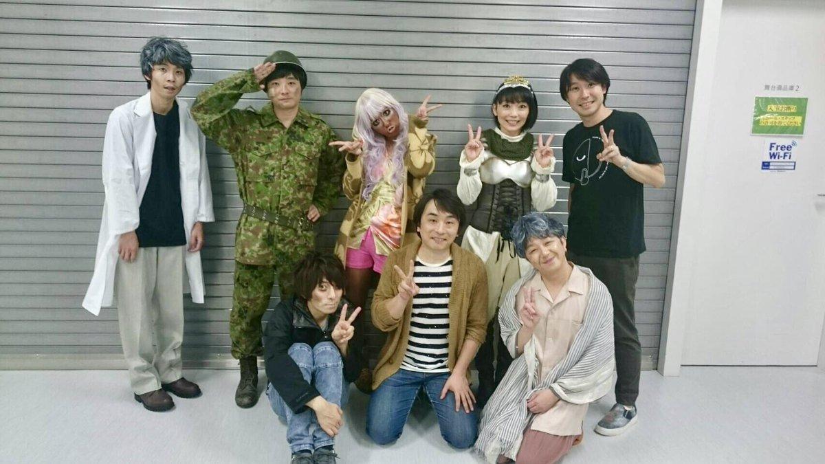 本番直前、舞台袖で「AD-LIVE楽しんでね!」と言って送り出してくれた鈴村さんに、公演終了後『とっ…