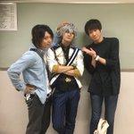 今日は、土田さんとマサミパパが見に来てくれたよぉ〜♪あ〜あ…嬉しい…。 pic.twitter.co…