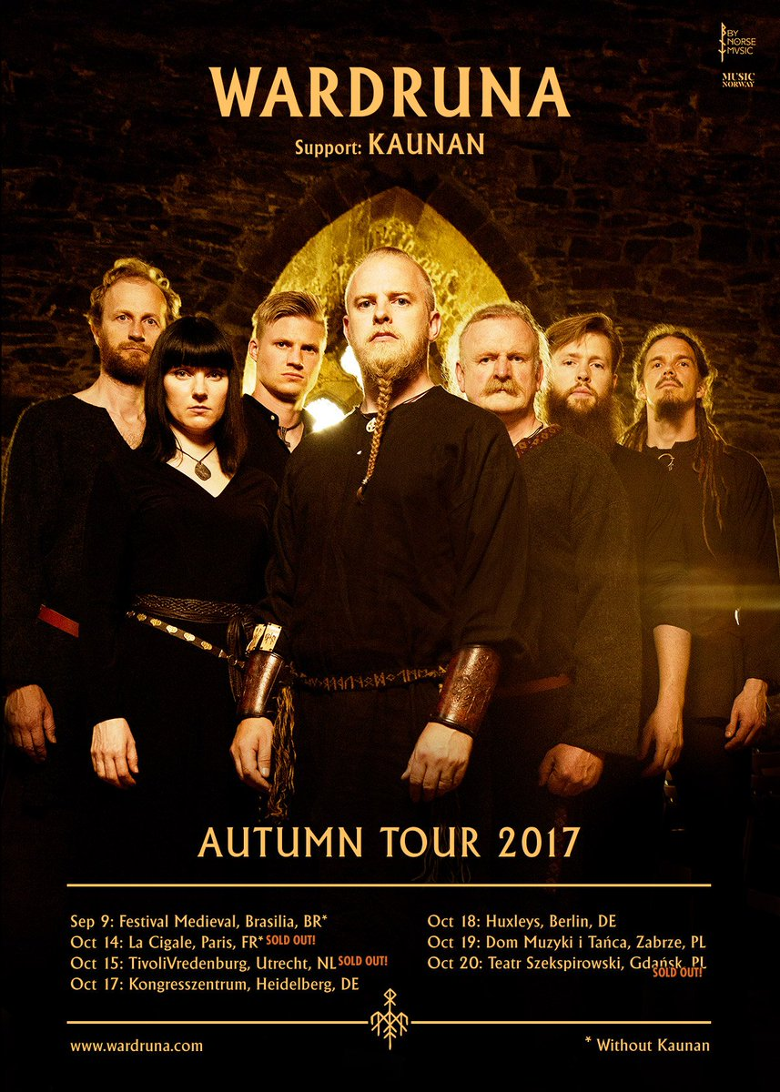 """It will also be available as a 10"""" vinyl on Wardruna's upcoming European tour."""