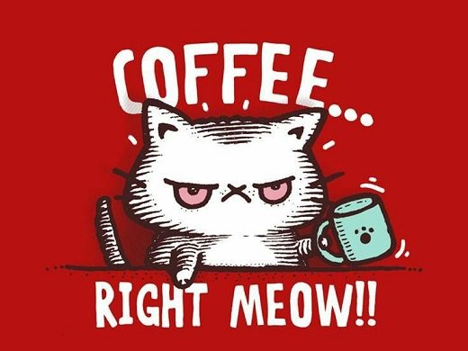 #Caturday can&#39;t begin until caffeine levels have been normalized.  #SaturdayMorning<br>http://pic.twitter.com/7MPpHCF8pB