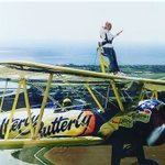 Rachel Thompson from Shoreham placed first in @CPWTweets's 'Action Heroes' competition with this photo of herself on top of a flying plane