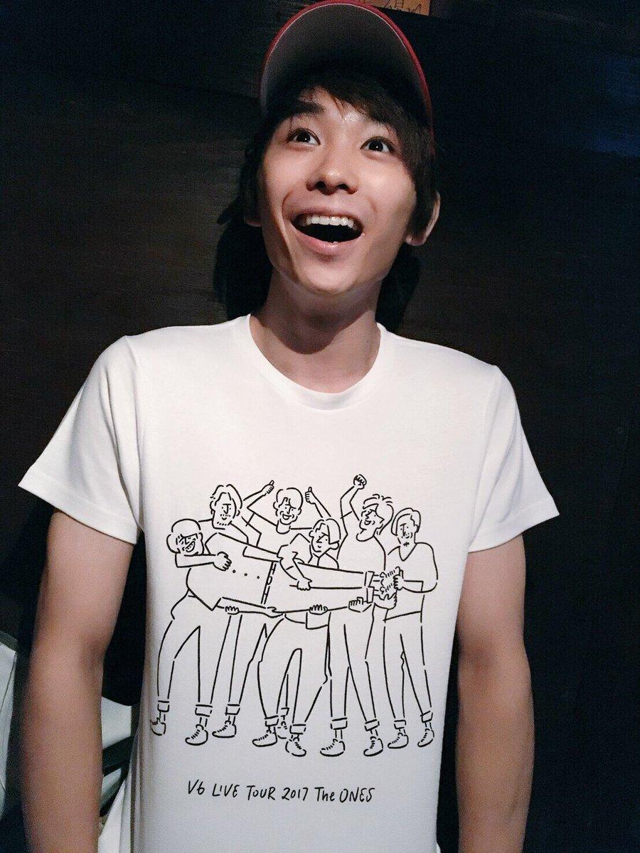 なぁみんな!!!!😳😳😳 見てくれよ!!!!😳😳😳 Tシャツいただいたぜファンの方から!(T_T) …