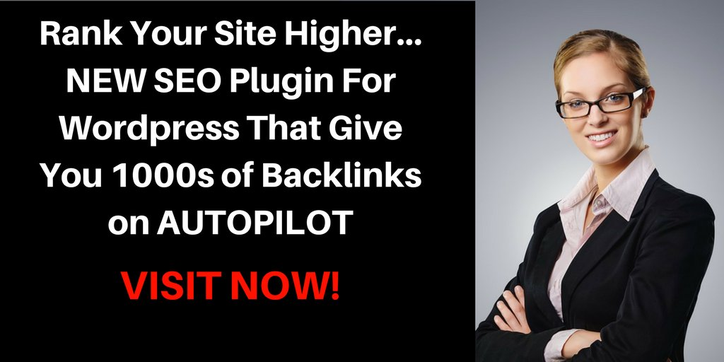 #smallbusinessmarketing SEO Plugin For Wordpress That Give You 1000s of Backlinks on AUTOPILOT  http:// bit.ly/2wU0eih  &nbsp;  <br>http://pic.twitter.com/zJhW5RNPxD