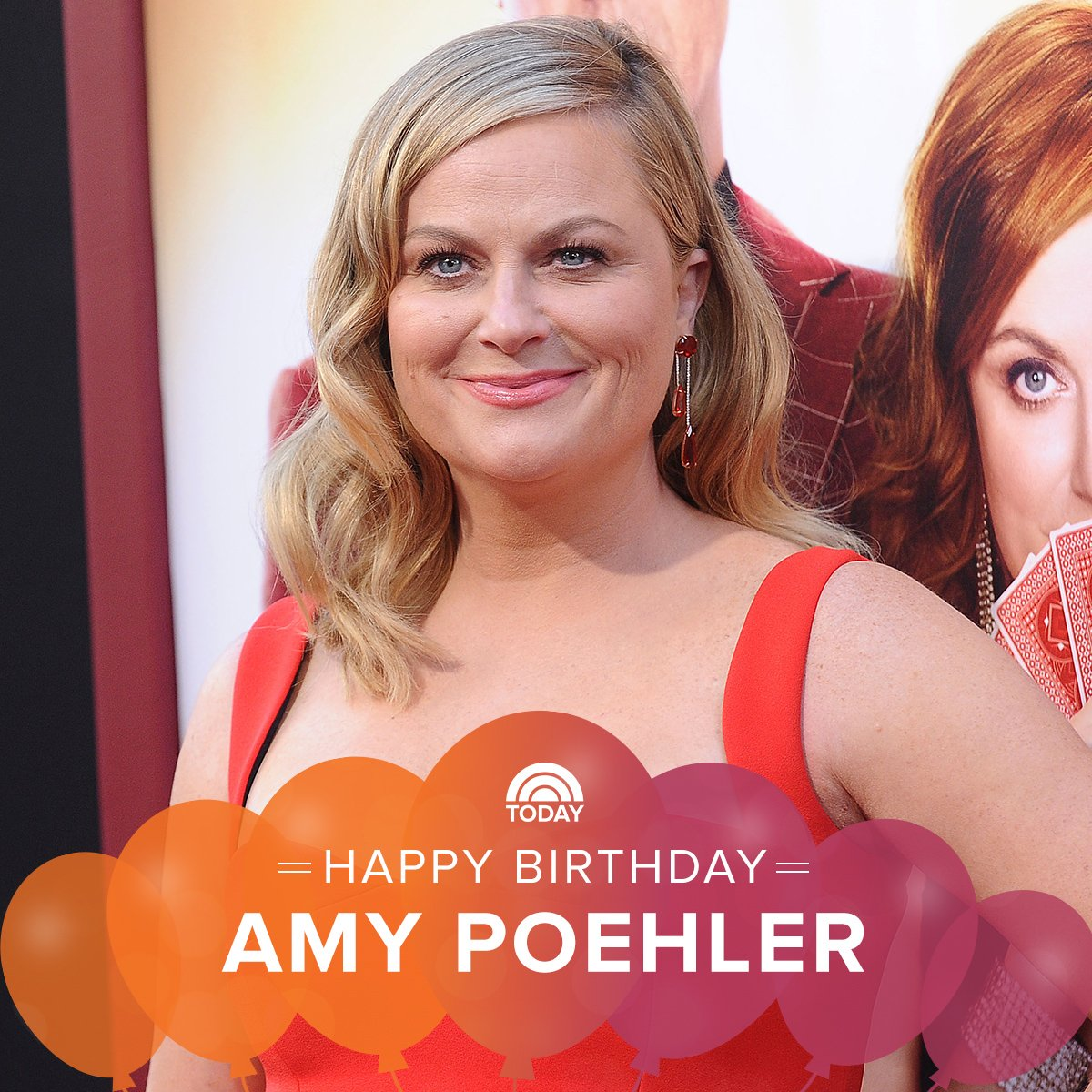 Happy birthday to one of our favorite ladies, Amy Poehler!
