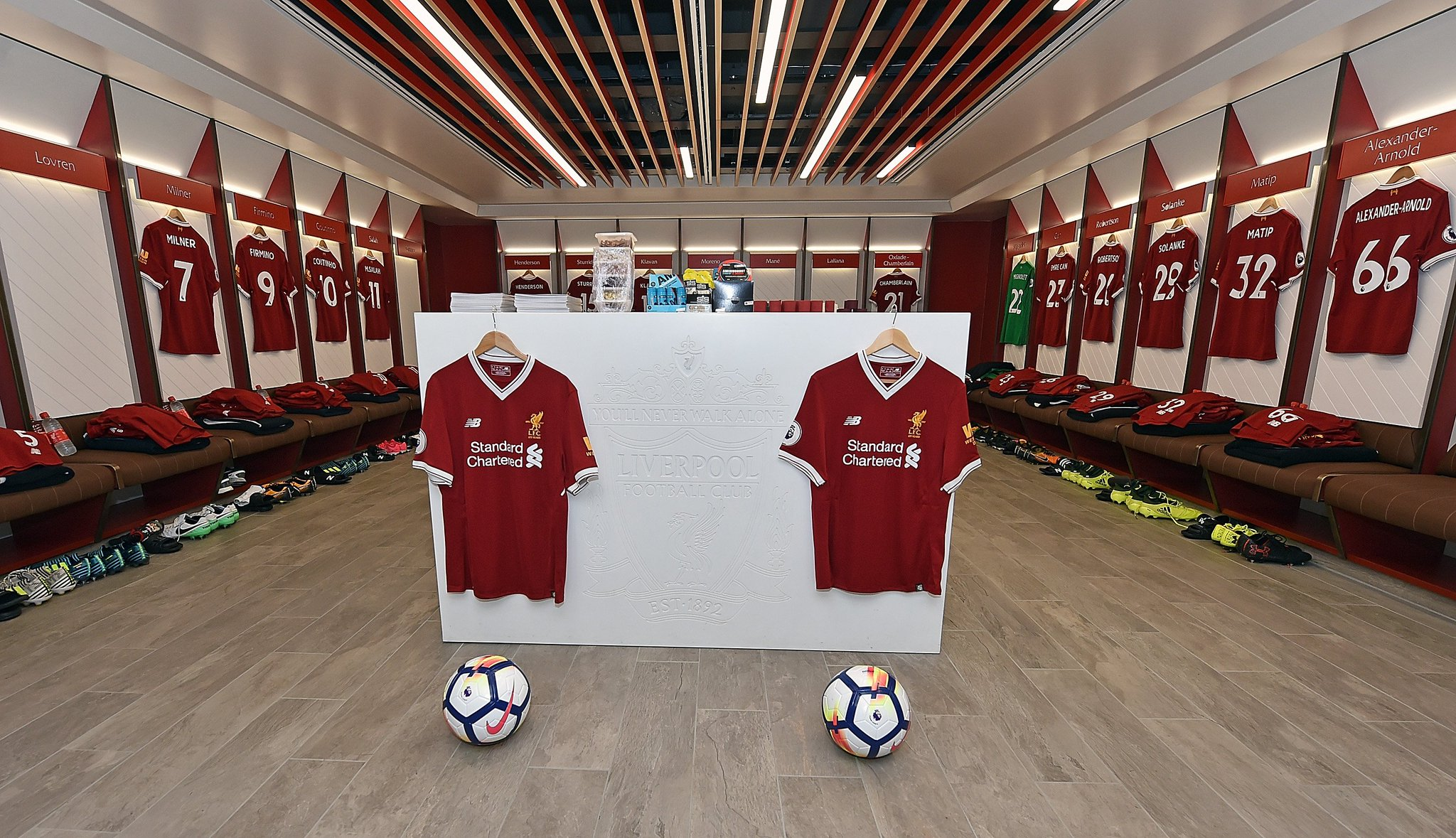 Liverpool Fc On Twitter Quot 📸 Inside The Lfc Dressing Room