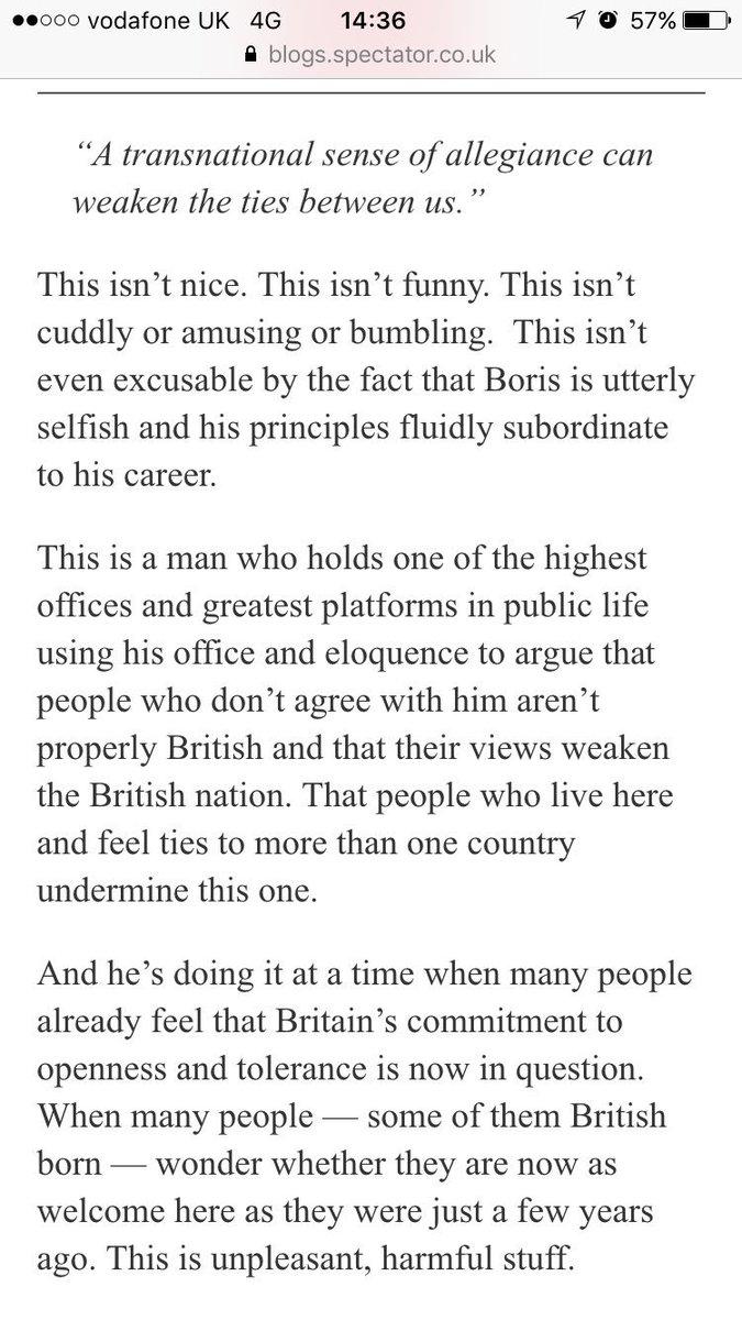 Me, with some sadness, on my former colleague, Boris Johnson:  https://t.co/nKPqIeKFm3 https://t.co/P04b10jlJf