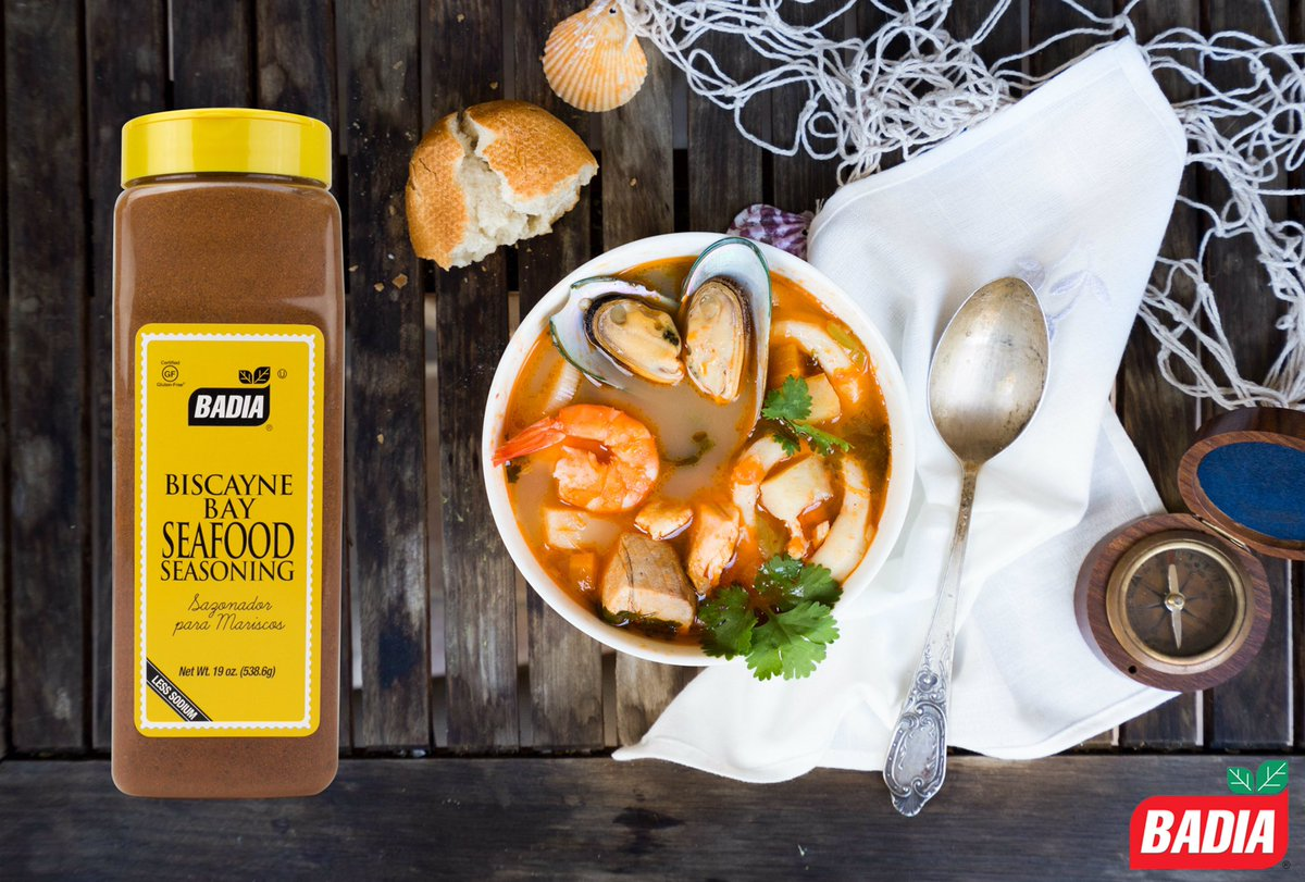 Bring out the natural flavors of your seafood dishes with our Biscayne Bay Seafood Seasoning.  #Bouillabaisse #French  #Seafood #Soup<br>http://pic.twitter.com/7aqT3x0KGB