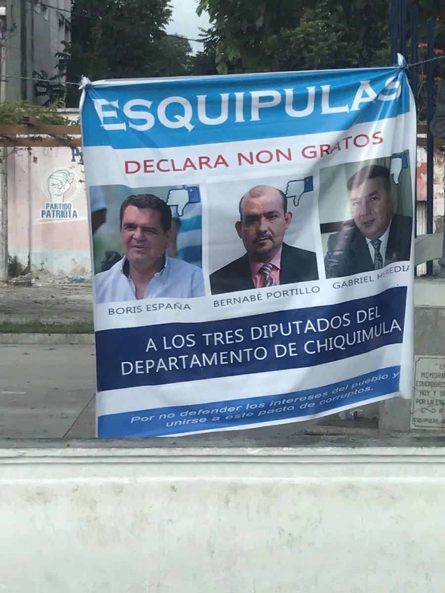 En Esquipulas rechazan el #PactodeCorruptos bien hecho! https://t.co/twdNhK7bES