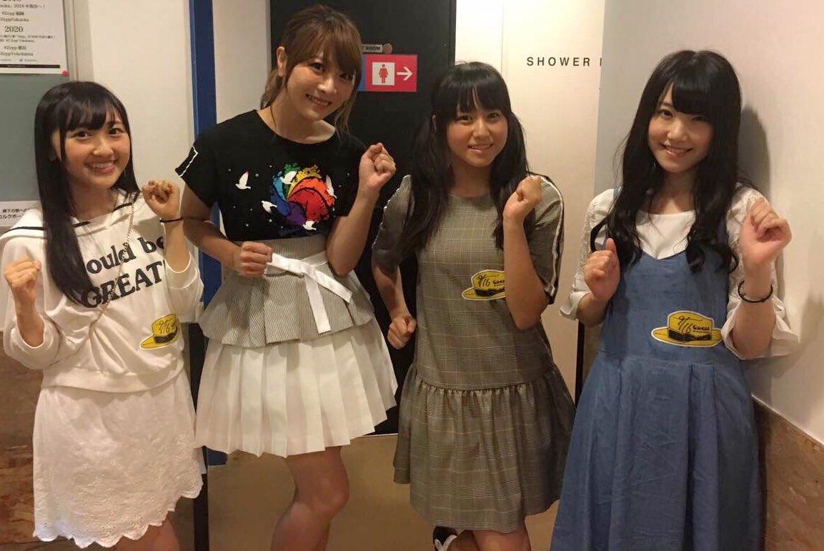 昼公演で、新章での新ユニット、Run Girls, Run!のみんなに会えたよ💓May'nさ…