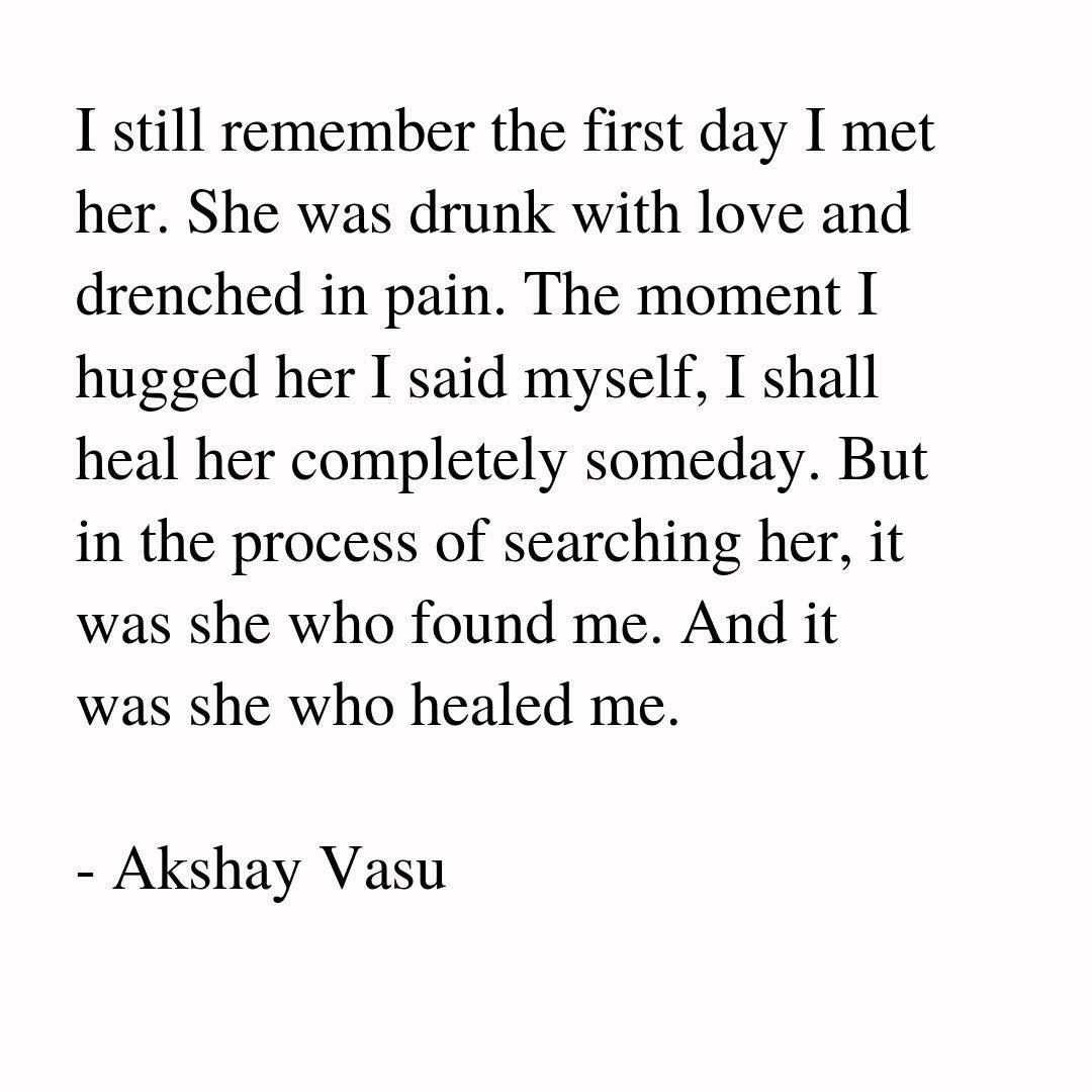 "Healing Love Quotes Akshay Vasu On Twitter ""healingheal Meet Pain Drunk Love"